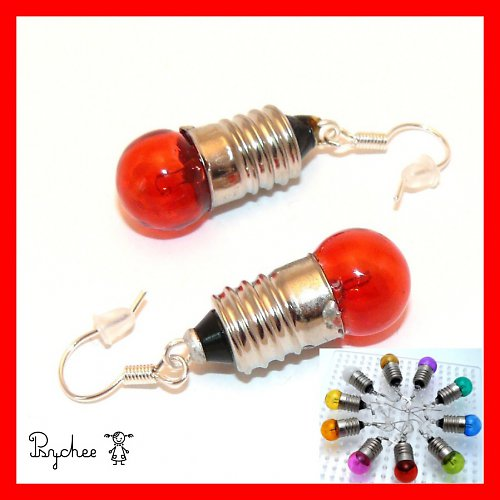 Mini žárovičky červené (i jiné barvy)