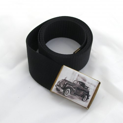 Pánský opasek - rolls royce Packard