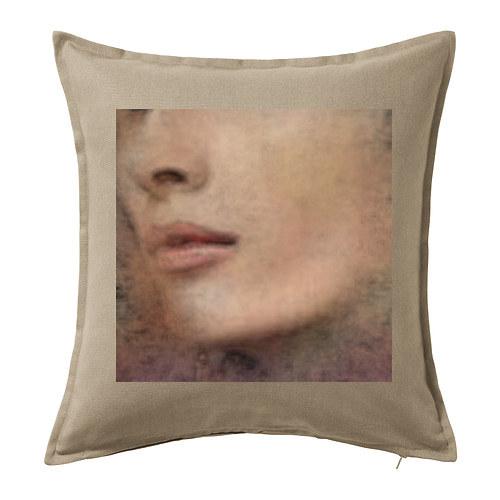 Dekorační polštář ,,Portrét,,