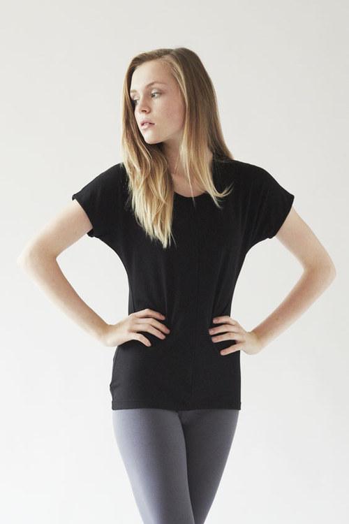 Tričko Mussel- černé
