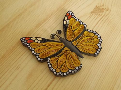Motýl - Monarcha stěhovavý