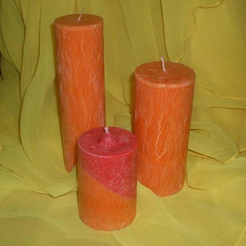 Sada svíček z palmového vosku dvoubarevná