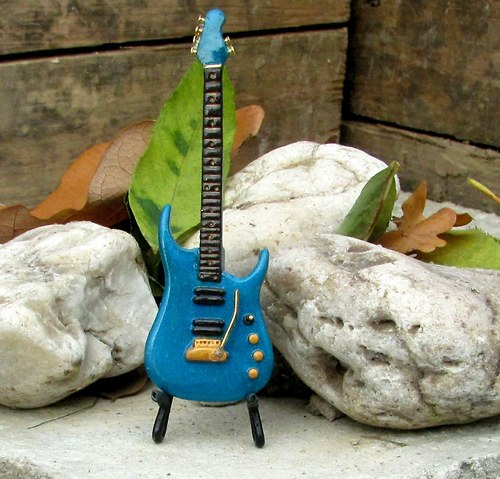 Kytara Music Man John Petrucci tyrkysová