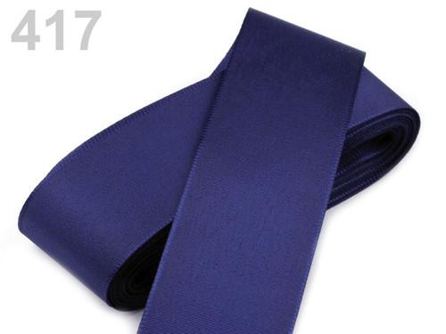 Taftová stuha 52mm (10m) - modrá berlínská