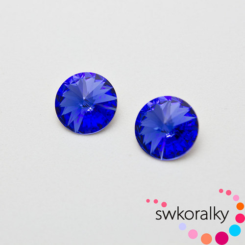 RIVOLI 12 mm SWAROVSKI ® ELEMENTS -saphire