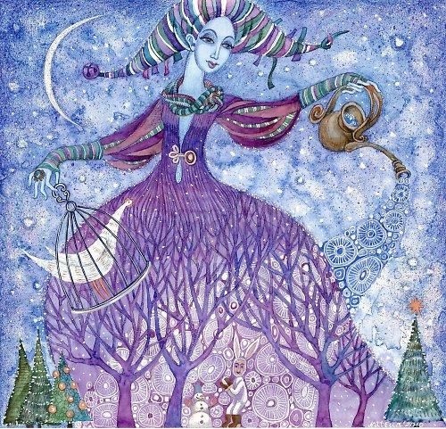 Zimní Královna ( sleva z 199 kč)