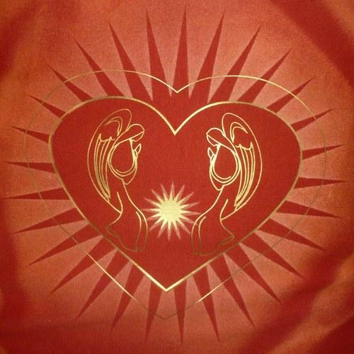Polštářek - Andělská láska