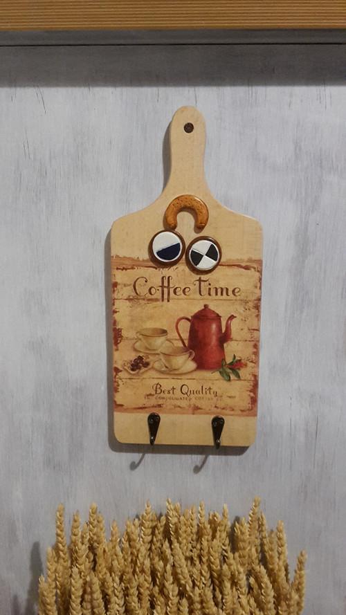 "Kuchyňské prkýnko \""Coffee Time\"""