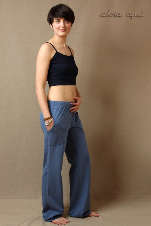 GITA PANTS BLUE