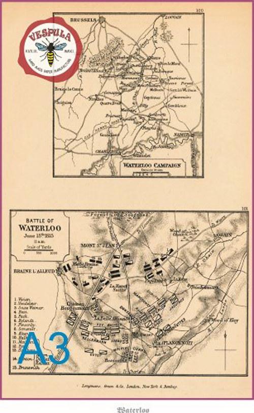 Napoleon, mapy bitev