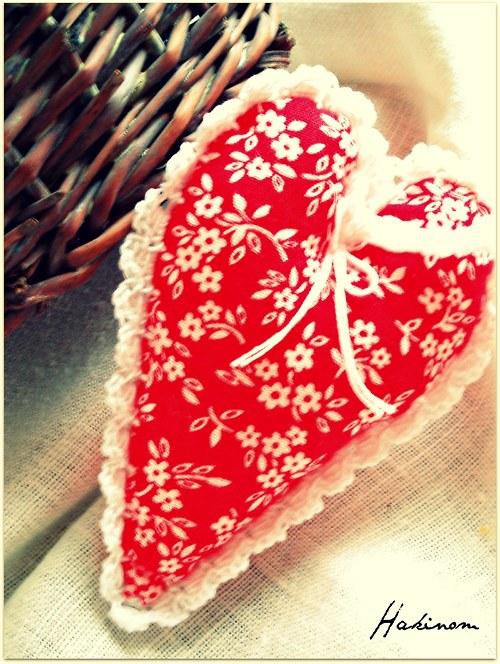 Srdce z lásky-červené