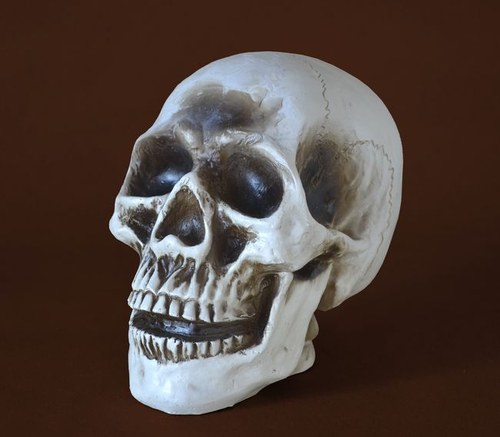 Forma na svíčky Lebka velká - výška 17cm