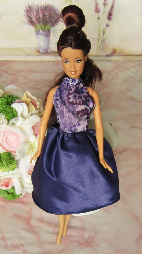 Fialové koktejlky pro Barbie 02