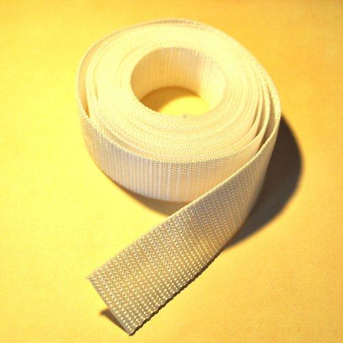 Popruh POP 4 cm - bílá