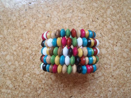 dřevěný barevný II