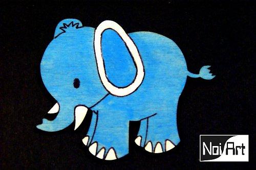 Sloník modrý