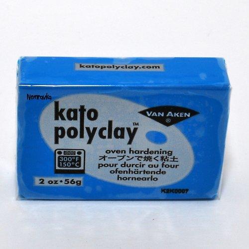Kato Polyclay / profi polymerová hmota / Sv. modr