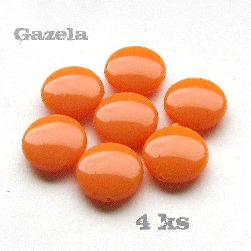 Čočky oranžové - 4 ks