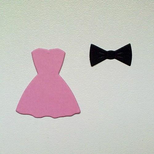 Výsek - Šaty a pánský motýlek