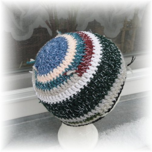 Originální barevná čepice