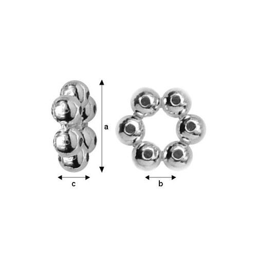 Kaplík stříbro Ag 925/1000