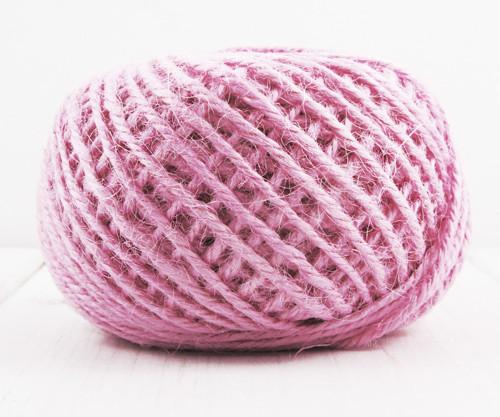 20m 65 21yrd Hot Pink Konopí Povlečení Kabel Výrob