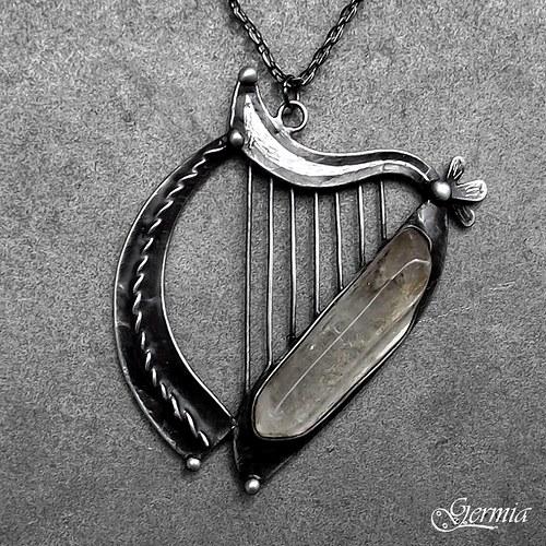 Irská harfa