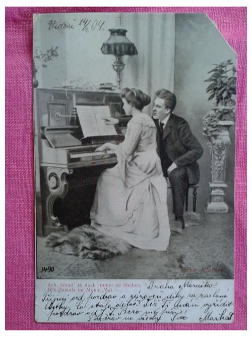 Láska u klavíru