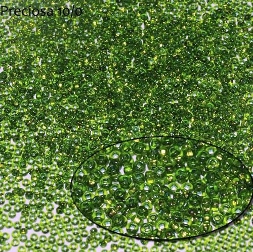 Rokajl Preciosa 6/0, S-L Chrysolite