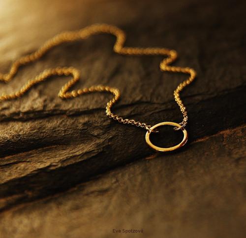 GG N°20 náhrdelník - žluté zlato ( Au 585/1000)