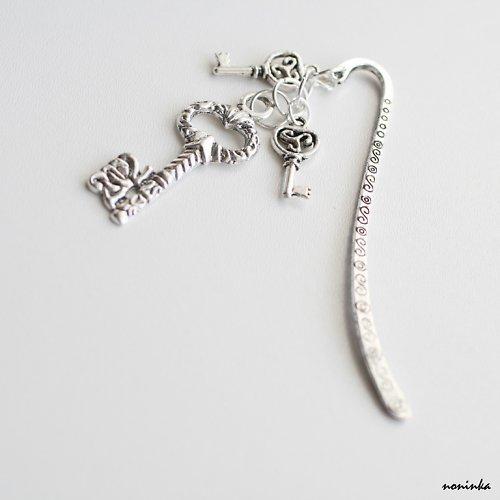 Klíče  -  záložka do knihy