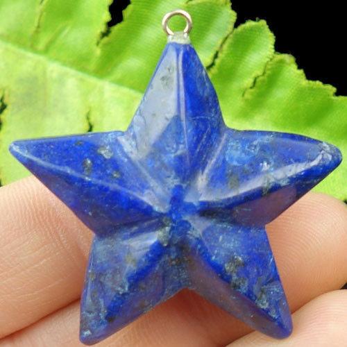 Přívěšek Hvězda Lapis Lazuli  40mm  F69295