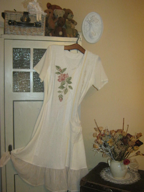 Šaty-vintage-zimní romantika