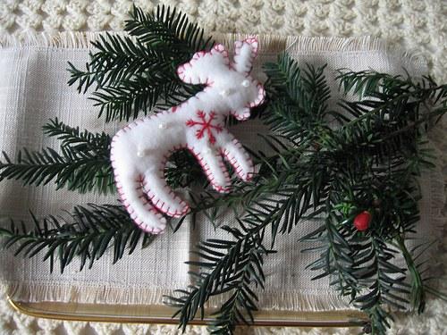 Ručně šité vánoční ozdoby   SOB