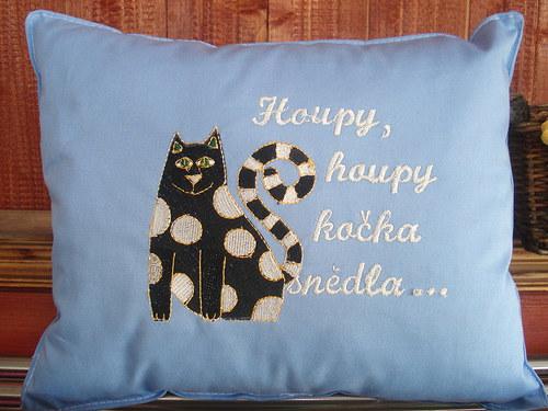 Kočičí polštář-  Houpy,houpy