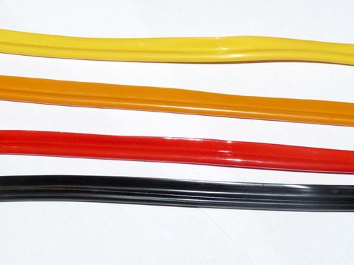 Výpustka, paspule z PVC - žlutá