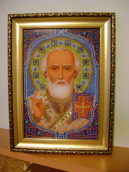 Obraz Svatého Mikuláše.
