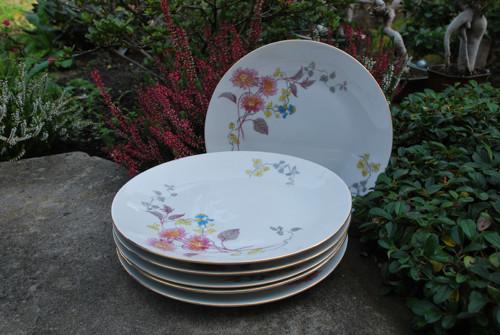 Porcelánový talíř - mělký