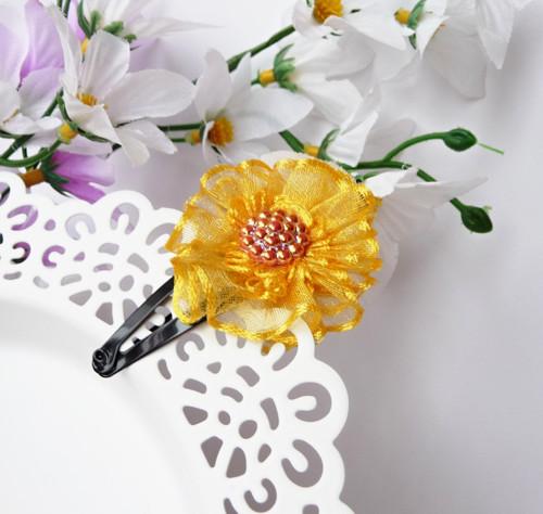 Sponka Šifonová květina