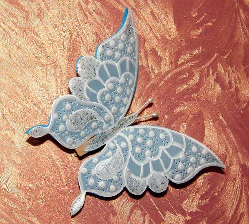 Motýlek pergamano na kolíčku