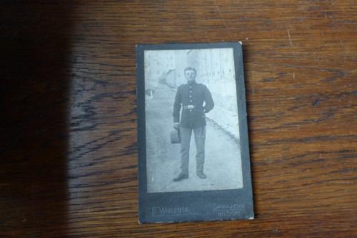 Voják... kabinetní fotografie