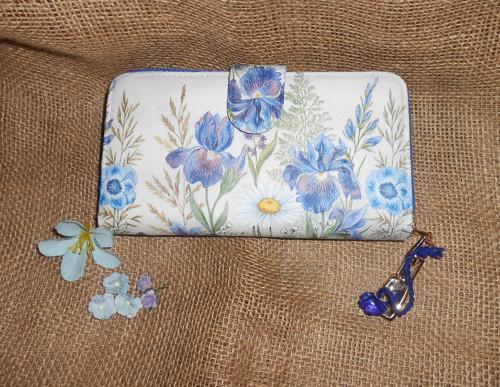 Peněženka - Květiny