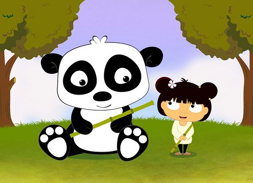 Hodina s pandou
