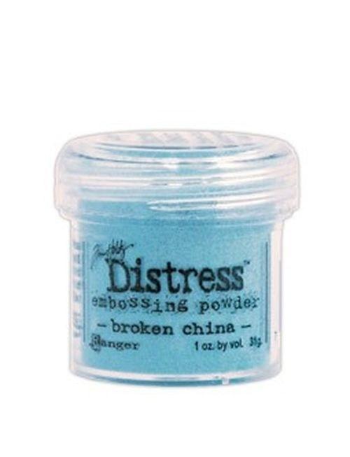Prášek na embosing Distress Broken China