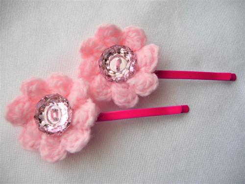 Sponky-růžové