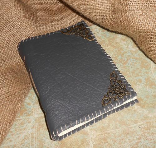 Kožený zápisník - vintage