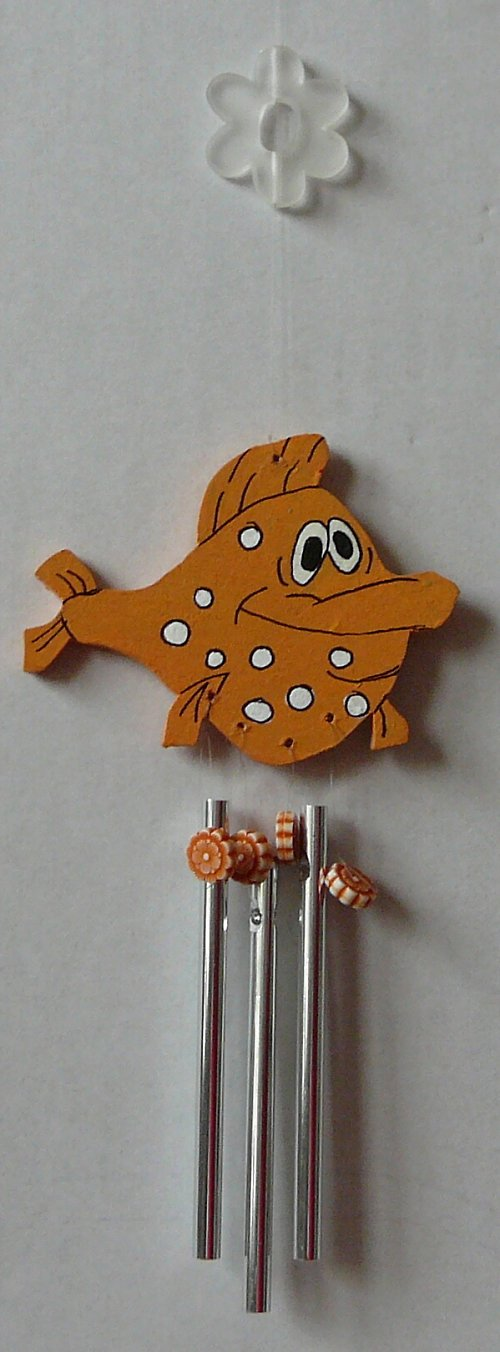 zvonkohra oranžová ryba
