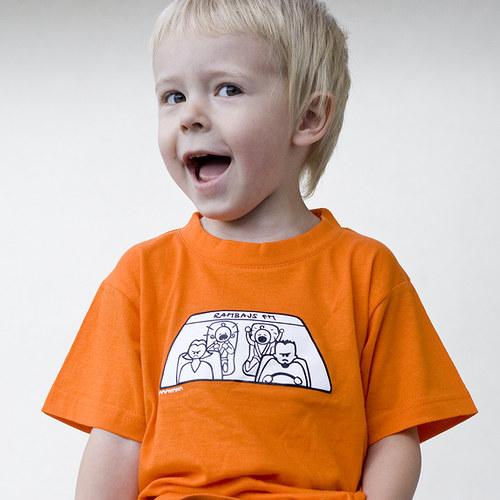 Originální dětské triko - Rambajs FM