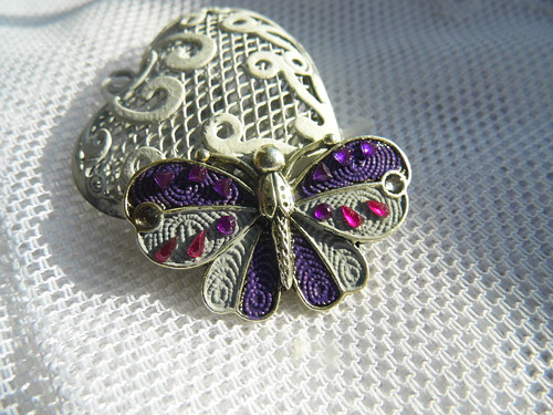 Motýlek - brožka