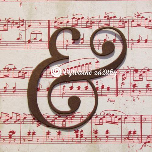 Symbol &  (ampersand) - velký